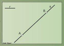 Circunferencia tangente a recta 01