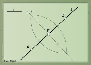 Circunferencia tangente a recta 02