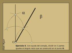 Dividir un ángulo de 90 en tres 02
