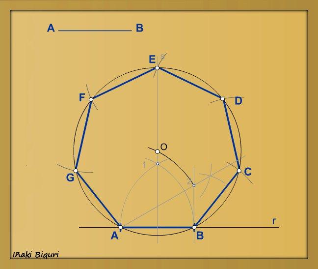 7. Heptágono