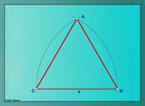 Triángulo equilátero B 03