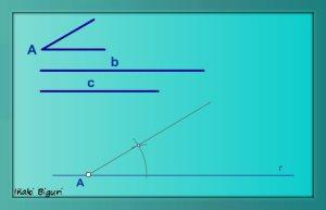 Triángulo. Lados y ángulo comprendido 01