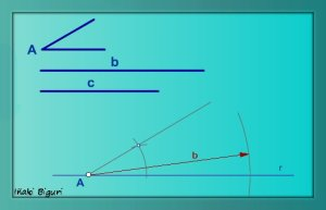 Triángulo. Lados y ángulo comprendido 02