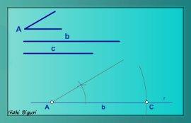 Triángulo. Lados y ángulo comprendido 03