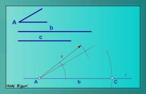Triángulo. Lados y ángulo comprendido 04