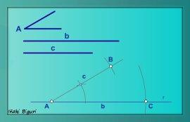 Triángulo. Lados y ángulo comprendido 05