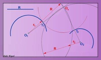 Enlace a dos circunferencias 02