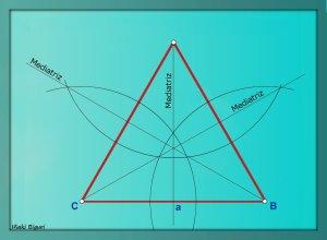 Triángulo equilátero estrellado 02