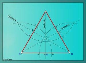 Triángulo equilátero estrellado 03
