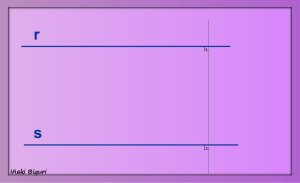 Enlace de dos rectas paralelas 01