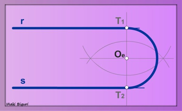Enlace de dos rectas paralelas 06