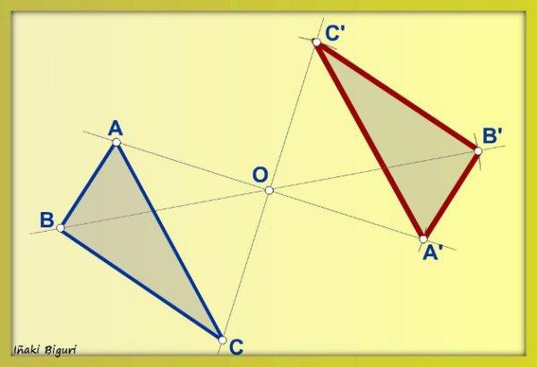 Simetría central 04