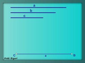 Triángulo a partir de los tres lados 01
