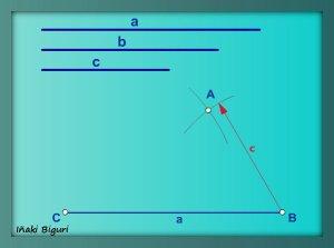 Triángulo a partir de los tres lados 03