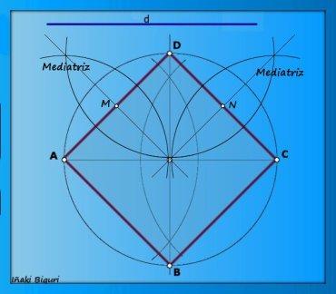 Corazón con base geométrica 01
