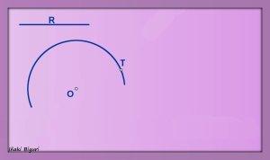 Enlace a una circunferencia, pasando por T 00