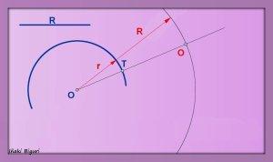 Enlace a una circunferencia, pasando por T 01