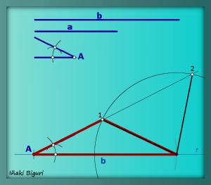 Triángulo con dos lados y un ángulo 06