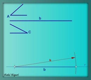 Triángulo con lado y ángulos adyacentes 02