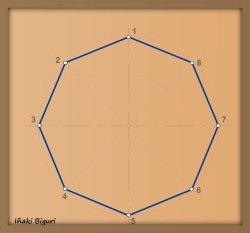 Estrella de ocho puntas 01