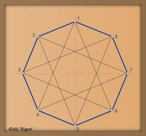 Estrella de ocho puntas 04