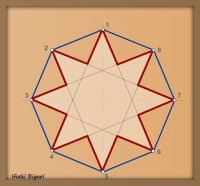 Estrella de ocho puntas 06