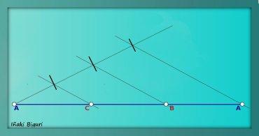 Triángulo equilátero mediante perimetro 02