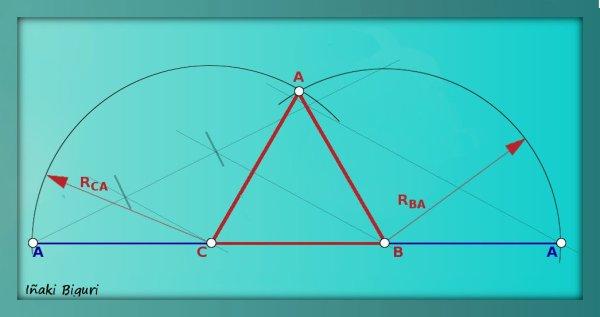 Triángulo equilátero mediante perimetro 04